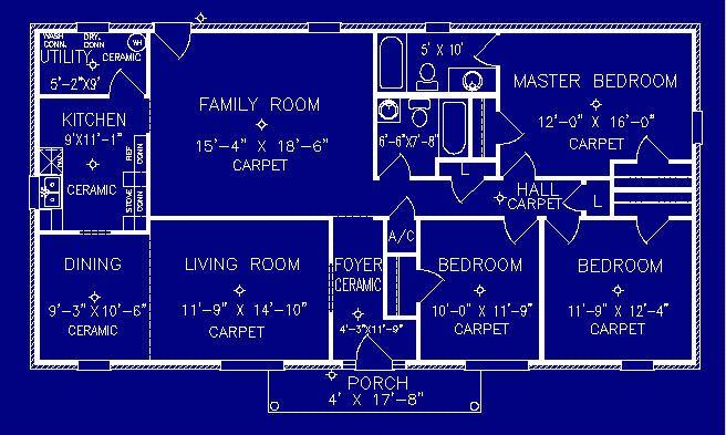 Ambassador Floorplan