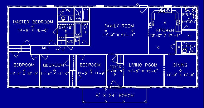 Executive Floorplan